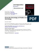 Sartori Giovanni. From the Sociology of Politics to Political Sociology