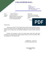 Surat Pengantar Ekspose PT.psr