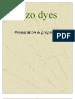 Azo dyes-Preparation & properties
