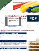 SBT Sekolah Berprestasi Tinggi (HPS) High Performing Schools