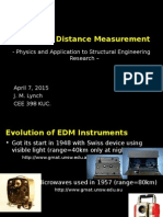Electronic Distance Measurement Jerome Lynch