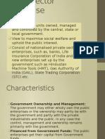 Public Sector Enterprise