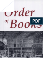 Chartier. (1992, 1994). The Order of Books