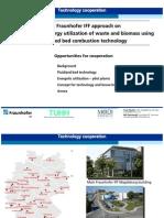 Fraunhofer IFF Energy Utilization Program - Presentation Indonesia