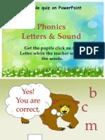 Phonic quiz
