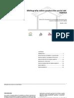 Bibliografia Comentada Produccion Social Del Habitat