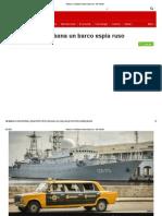 Atraca en La Habana Un Barco Espía Ruso - BBC Mundo