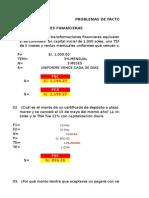 03 Anualidades Vencidas - PROPUESTO - Problemas - ROSA