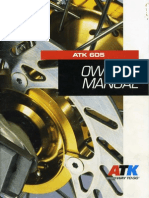 Atk Owners Manual