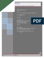 Lab1 - Purificacion de Sustancias Solidas y Criterios de Pureza