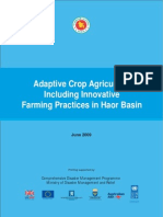 Adaptive Crop Agriculture Including Innovative Farming Practices in Haor Basin - 2009