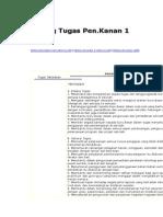 Bidang Tugas Pen. Kanan 1