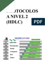 Protocolo Nivel 2  HDLC