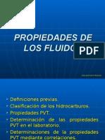 Propiedades de los Fluidos (PRODUCCIÓN DE POZOS)