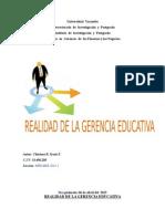 REALIDAD DE LA GERENCIA EDUCATIVACHIRINOSIRAZU