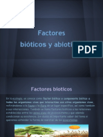 FFACTORES BIOTICOS