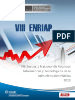 Analisis Encuesta VIII ENRIAP 2010