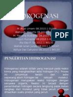 hidrogenasi Dalam Kimia Organik