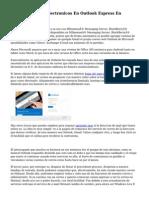 Percibir Correos Electronicos En Outlook Express En Alojamiento (Pro)