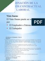 IngpetDavilaJ, QuiñonezD, CruzE Terminación de La Relación Contractual Laboral