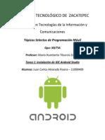 Instalación de Android Studio