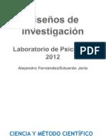2ª Clase 2012 - Diseños de Investigación