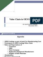 OEM Value Chain Management