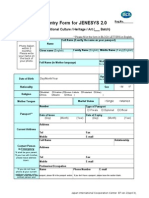 Formulir Program Jenesys 2.0