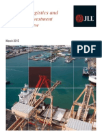 JLL Industrial capital markets outlook (2015 March)