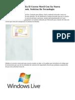 Microsoft Penetra En El Correo Movil Con Su Nueva Aplicacion De Outlook. Noticias De Tecnologia