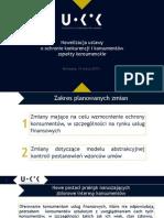 Prezentacja Wiceprezes UOKiK Doroty Karczewskiej Aspekty Konsumenckie (1)
