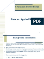 RM-898 Basic vs Applied Research