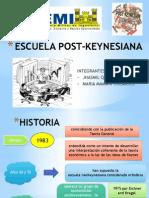 Escuela Pos-keynesiana