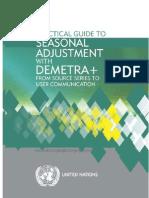 Practical Guide to Seasonal Adjustment Final Web