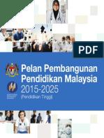 1. Pelan Pembangunan Pendidikan Malaysia 2015-2025 (Pendidikan Tinggi)