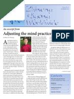 Adjusting the Mind Practice