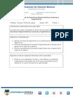 DERIVADAS Funciones Trigonométricas Inversas Y LOGARÍTMICAS