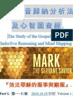 馬可福音歸納法及心智圖查經整理(1)  (1~7章)