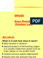 A presentation about drugs