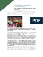 Investigacion de Lesiones Por La Practica Deportiva Adaptada