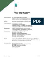 Automatic Fuel Pump Control (EAAM018402)