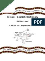 B. lowe Yolngu Dictionary