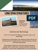 Long Span Structures Stru Steel SRM