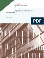 ASRE Kantorenleegstand, incentives en huurprijzen (2015)