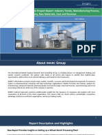 Wheat Starch Processing Plant Project Report