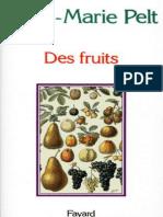 Des Fruits - Pelt_ Jean-Marie
