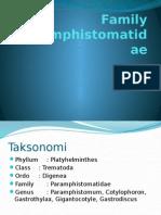Family Paramphistomatidae