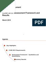 Summary CCAR 2015