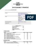 UAM Grado en Economía y Finanzas