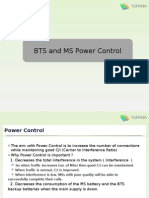 BTS and MS Power Control